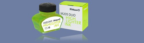 ATRAMENT PELIKAN M205 DUO 30ML FLUORESCENCYJNY ZIELONY