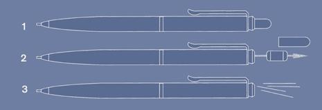 Instrukcja obsługi ołówka